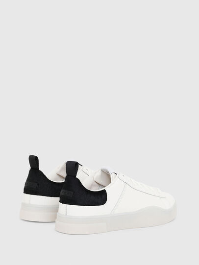 Diesel - S-CLEVER LOW LACE, Blanco/Negro - Sneakers - Image 3