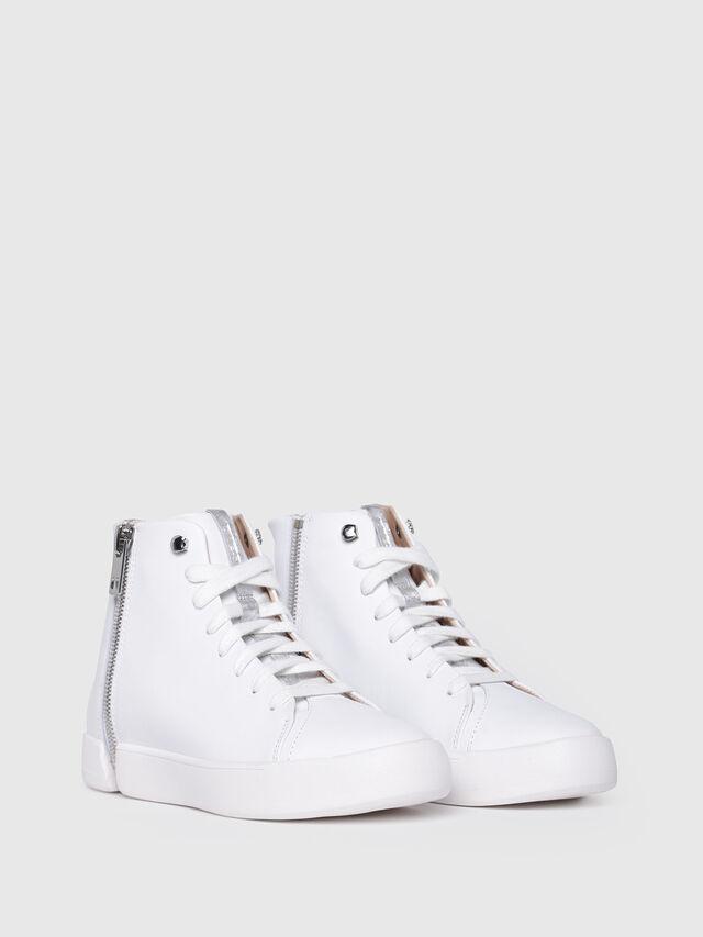 Diesel - S-NENTISH MC W, Blanco - Sneakers - Image 2