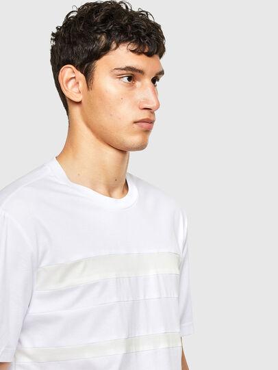 Diesel - T-LOUD, Blanco - Camisetas - Image 4
