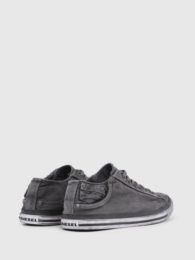 Diesel - EXPOSURE LOW I, Gris Metal - Sneakers - Image 3