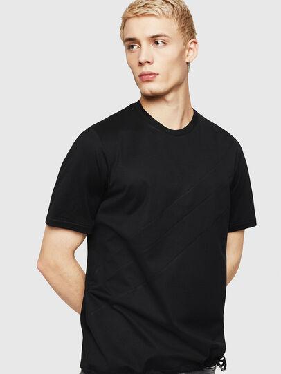 Diesel - T-ALEKSEY, Negro - Camisetas - Image 1