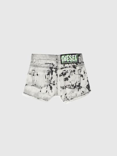Diesel - PRIFTY, Blanco/Negro - Shorts - Image 2