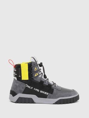 S-RUA MID SP, Gris/Negro - Sneakers