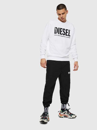 Diesel - S-GIR-DIVISION-LOGO, Blanco - Sudaderas - Image 7