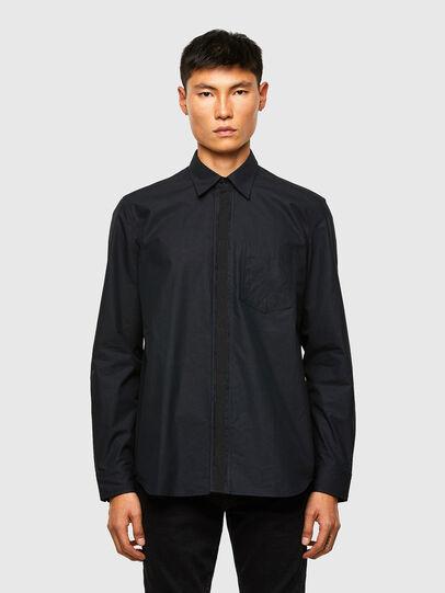 Diesel - S-OLSEN, Negro - Camisas - Image 1