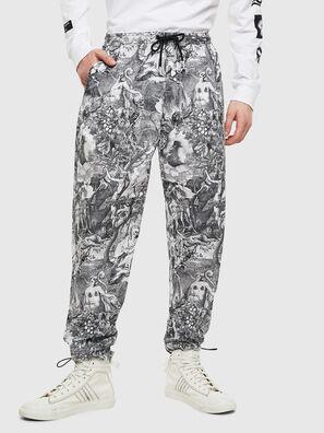 P-TOLL-KAOS, Negro/Blanco - Pantalones