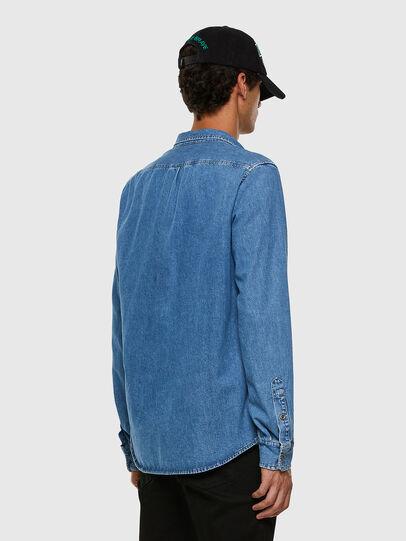 Diesel - D-BILLY, Azul Claro - Camisas de Denim - Image 5