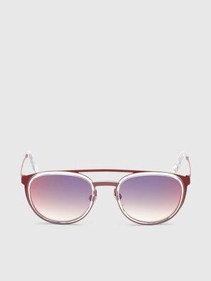 DL0293, Rojo/Blanco - Gafas de sol