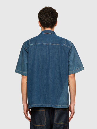 Diesel - D-GUNN-SP, Azul medio - Camisas de Denim - Image 2