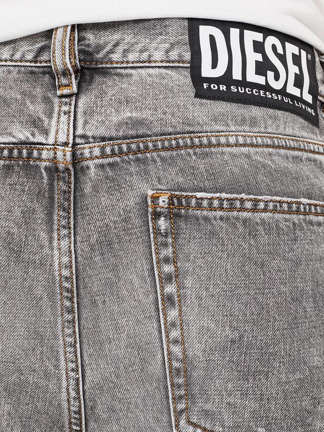 Diesel - D-KORT, Gris Claro - Shorts - Image 5
