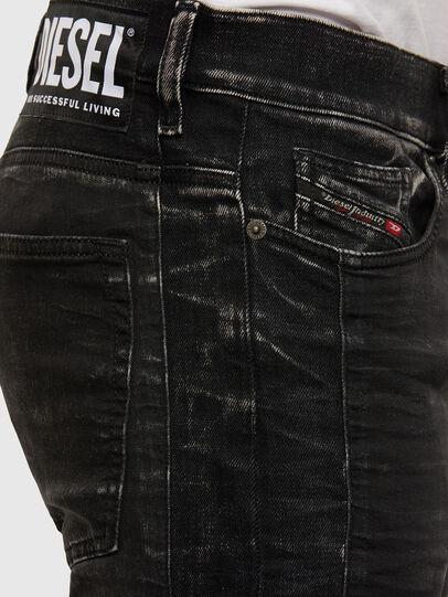 Diesel - D-Reeft JoggJeans 009FY, Negro/Gris oscuro - Vaqueros - Image 4