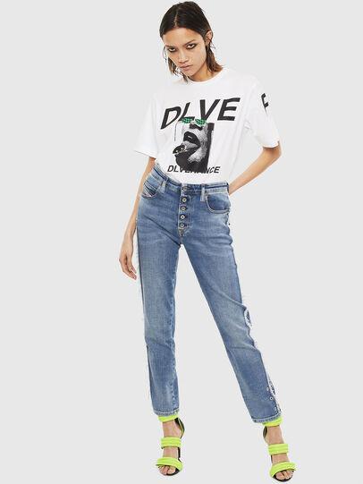 Diesel - T-JUST-T21, Blanco - Camisetas - Image 8