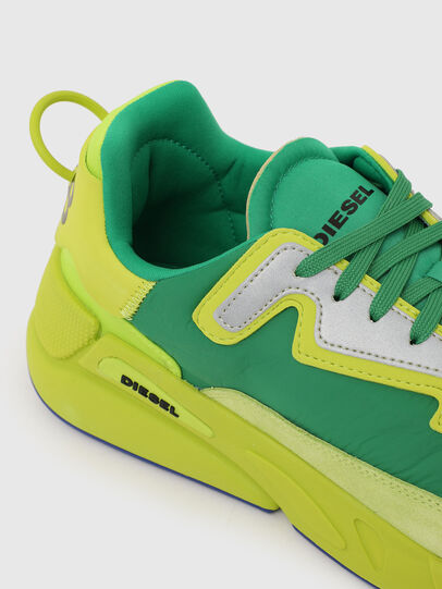 Diesel - S-SERENDIPITY LC, Amarillo/Verde - Sneakers - Image 4