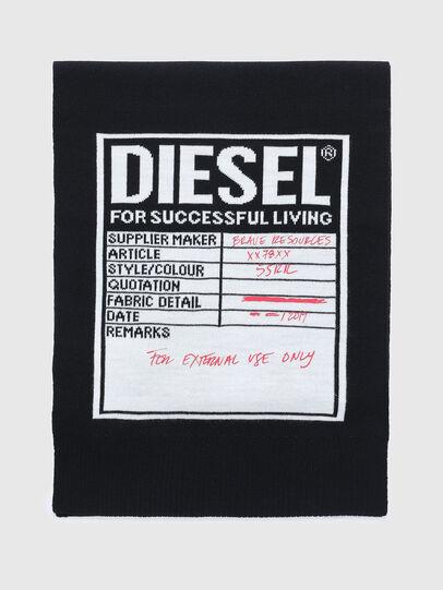 Diesel - K-GUBO D, Negro - Bufandas - Image 1
