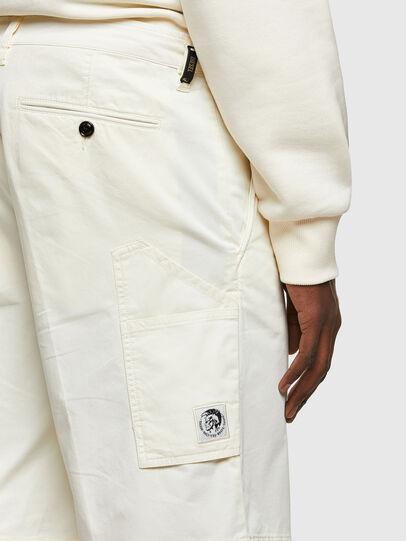 Diesel - P-HATY, Blanco - Shorts - Image 3