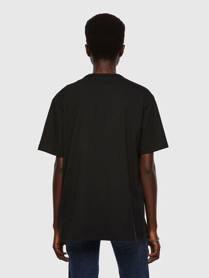 Diesel - T-BOYISH, Negro - Camisetas - Image 2