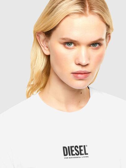 Diesel - T-SILY-SMALLOGO, Blanco - Camisetas - Image 3