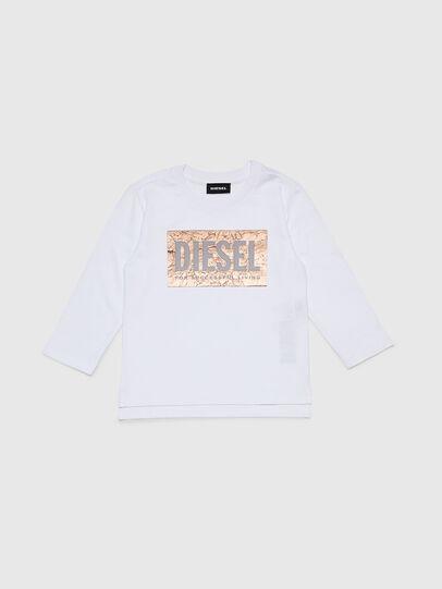 Diesel - TIRRIB-R, Blanco - Camisetas y Tops - Image 1