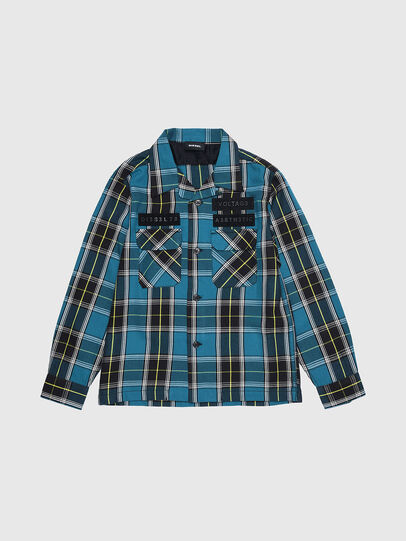 Diesel - CTAKESHI, Azul/Negro - Camisas - Image 1