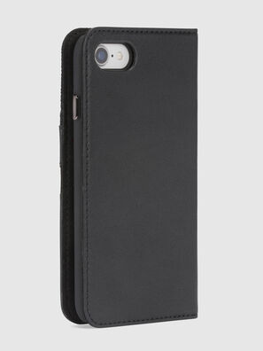 BLACK DENIM/STUD/ZIPPER IPHONE 8/7 FOLIO, Negro - Fundas tipo libro