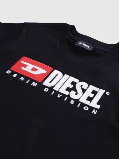 Diesel - TJUSTDIVISION, Negro - Camisetas y Tops - Image 3