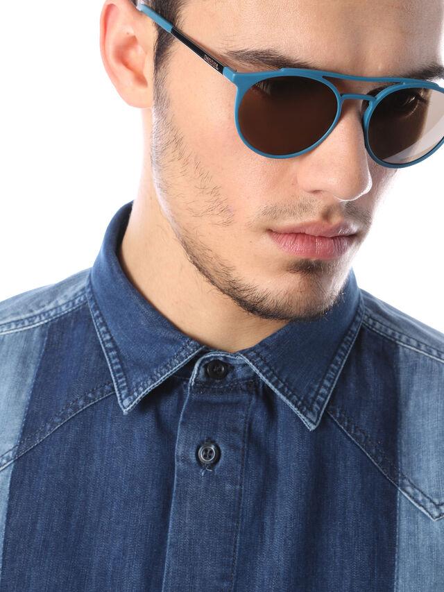 Diesel - DM0195, Azul - Gafas de sol - Image 5
