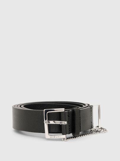 Diesel - B-MALIER, Negro - Cinturones - Image 1