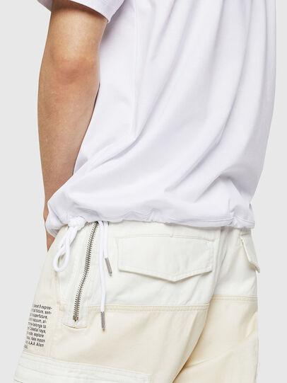 Diesel - T-ALEKSEY, Blanco - Camisetas - Image 3