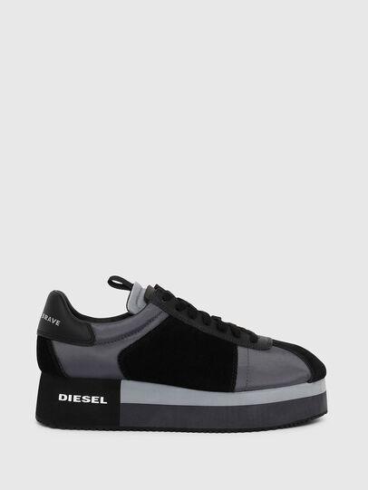 Diesel - S-PYAVE WEDGE, Azul/Negro - Sneakers - Image 1