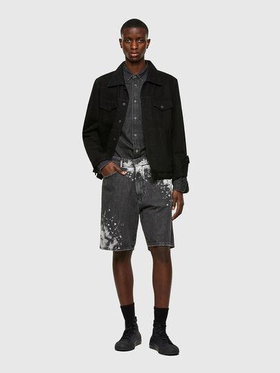 Diesel - D-WILLOH-X-SP, Negro - Shorts - Image 5