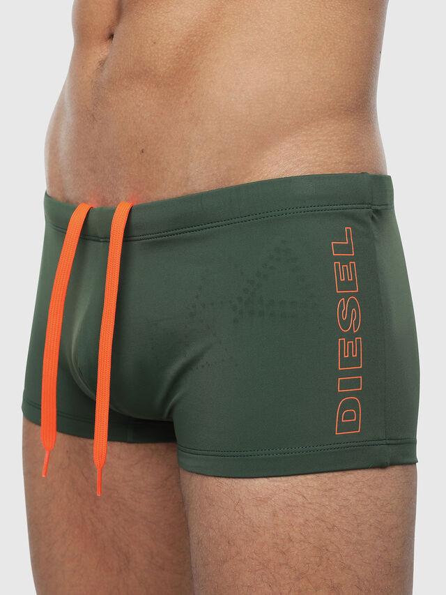 Diesel - BMBX-HERO, Verde Oscuro - Pantalònes cortos playa - Image 3
