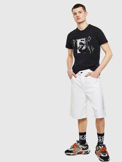 Diesel - T-DIEGO-S12, Negro - Camisetas - Image 5