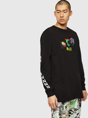 T-GLYNIS-J1, Negro - Camisetas