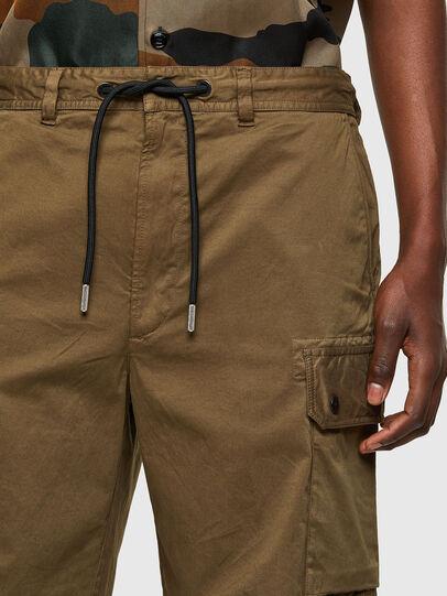 Diesel - P-APE, Verde Militar - Shorts - Image 3