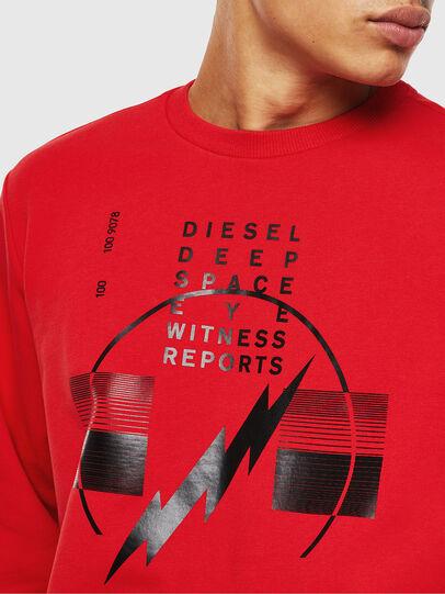 Diesel - S-GIRK-J2, Rojo - Sudaderas - Image 3