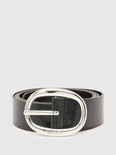 Diesel - B-ISIDE, Negro/Gris - Cinturones - Image 1