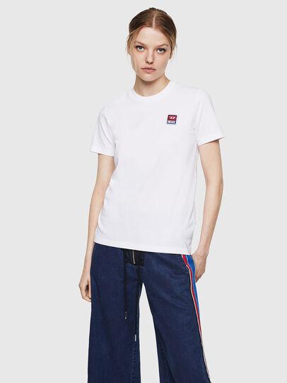 Diesel - T-SILY-ZE, Blanco - Camisetas - Image 1