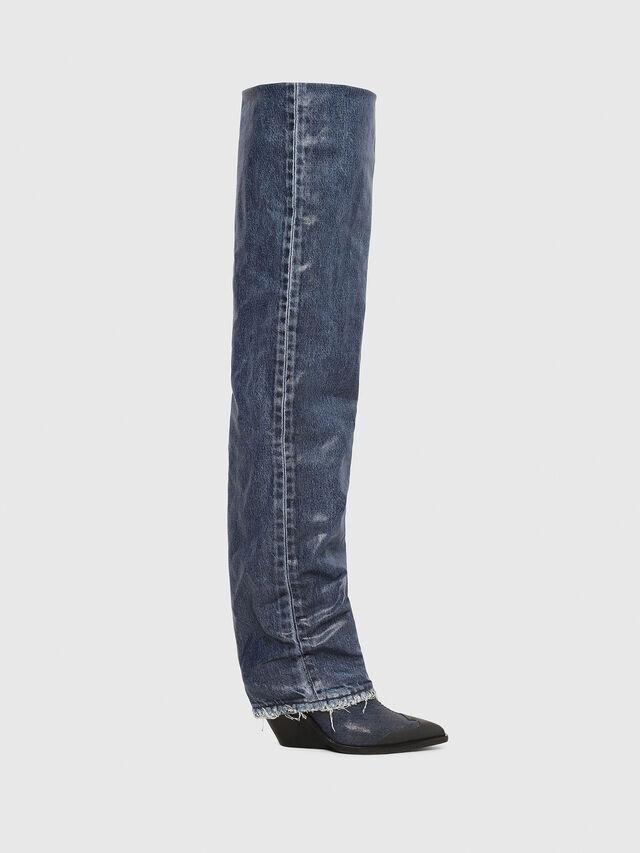 Diesel - D-WEST OTK, Blue Jeans - Botas - Image 1