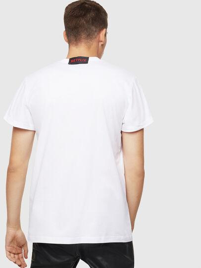 Diesel - LCP-T-DIEGO-NAIROBI, Blanco - Camisetas - Image 3