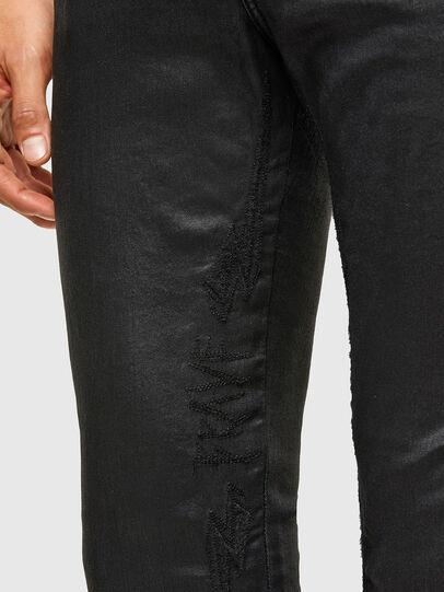 Diesel - D-Reeft JoggJeans® 069TE, Negro/Gris oscuro - Vaqueros - Image 5