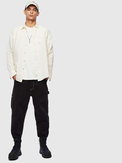 Diesel - S-PLAN-B, Blanco - Camisas - Image 6