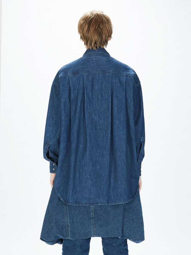 Diesel - SOTS01, Azul Oscuro - Camisas - Image 6
