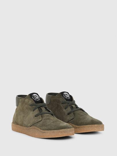 Diesel - H-CLEVER PAR DESERT, Verde - Sneakers - Image 2