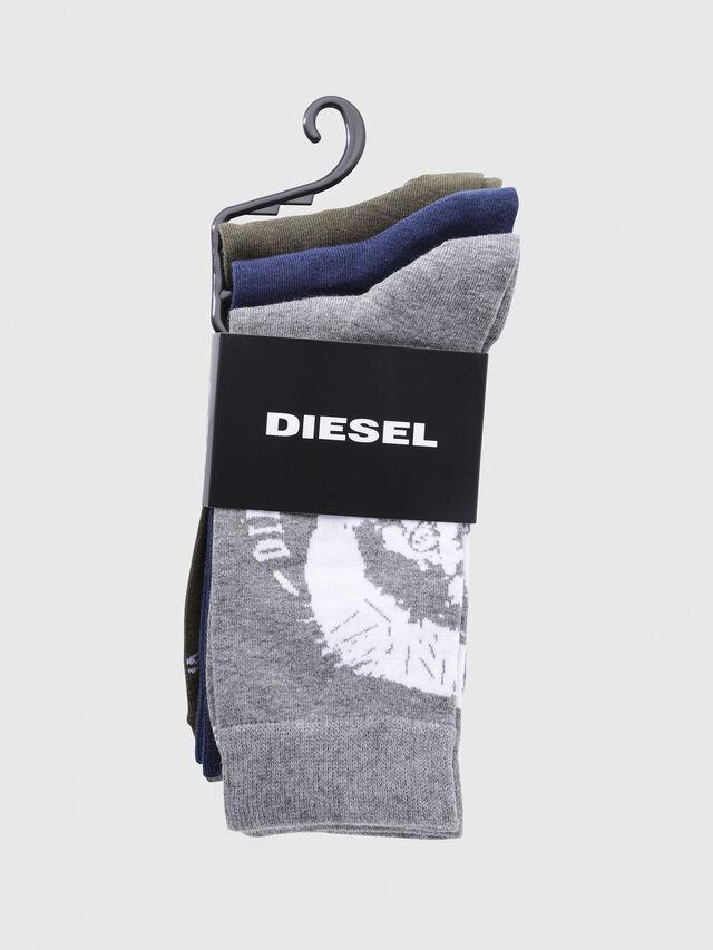 Diesel - SKM-RAY-THREEPACK, Multicolor/Blanco - Calcetines - Image 2