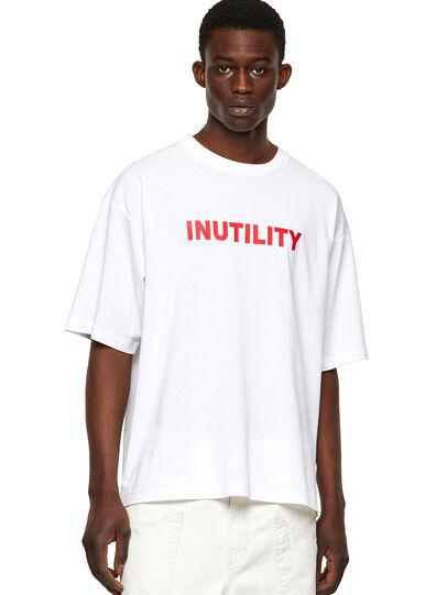 Diesel - T-BALM-B1, Blanco - Camisetas - Image 1
