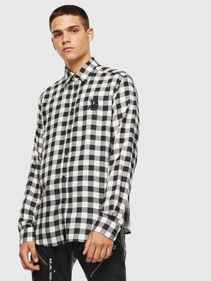 S-VEN-CHECK, Negro/Blanco - Camisas