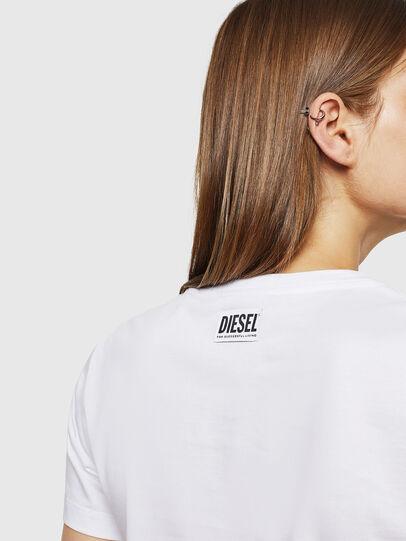 Diesel - T-SILY-WK, Blanco - Camisetas - Image 4