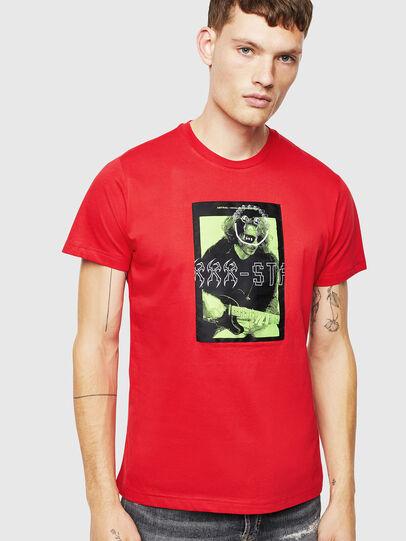 Diesel - T-DIEGO-J1, Rojo - Camisetas - Image 1