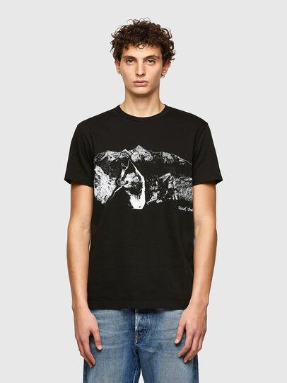 Diesel - T-DIEGOS-A7, Negro - Camisetas - Image 1
