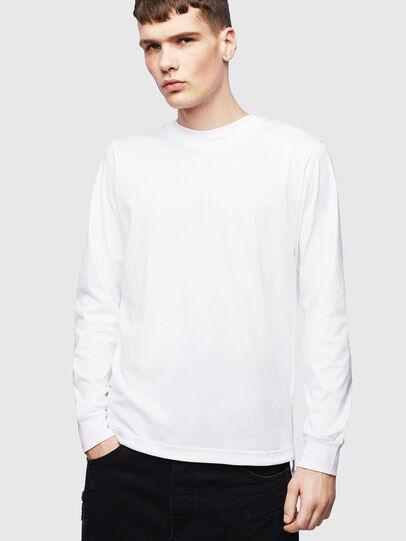 Diesel - T-HUSTY-LS, Blanco - Camisetas - Image 1